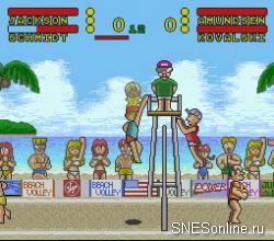 Inazuma Serve da!! Super Beach Volley